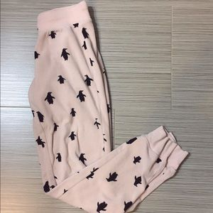 Aeropostale penguin pajama pants
